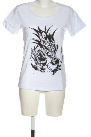 Lushanghai Print-Shirt
