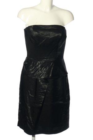 Lussile Bandeau Dress black elegant