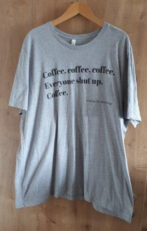 Bella+Canvas T-shirt lichtgrijs-zwart Katoen