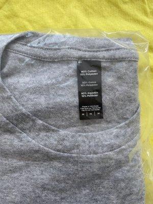 Lustiges T-Shirt in Grau