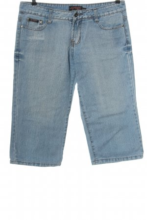 Lusy & Elisa Jeans a 3/4 blu stile casual
