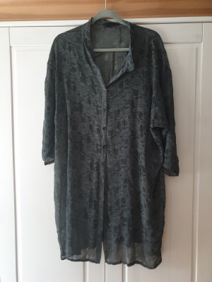 Luukaa Long Blouse anthracite
