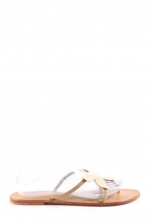 LUX. Dianette Sandals cream casual look