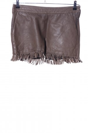 Luxe by Vila Clothes Hot Pants braun Casual-Look