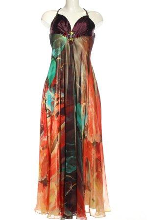 Luxuar Limited Abendkleid Allover-Druck extravaganter Stil