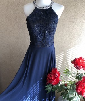 Luxuar Limited Abendkleid Maxikleid Neu in blau