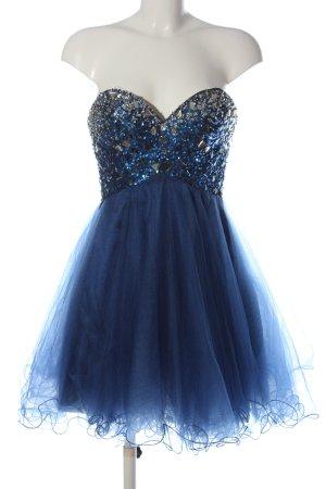 Luxuar Limited Suknia balowa niebieski Elegancki