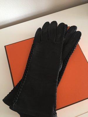 Luxuriöse Leder Handschuhe