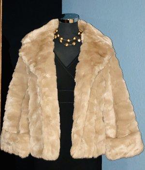 """Luxuriöse Per Una warmes """"Faux Fur"""" Jacke"""