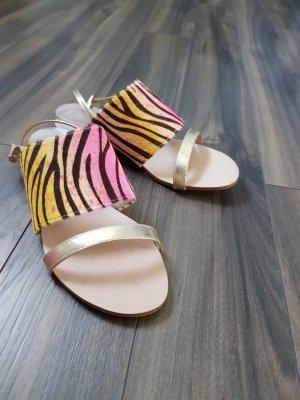 Rosa Rot Dianette sandalen veelkleurig
