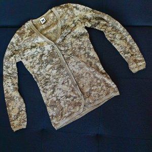 Missoni Cardigan tricotés noir-doré