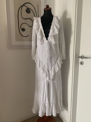 ASOS DESIGN Robe Hippie blanc