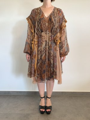 Chloé Letnia sukienka Wielokolorowy