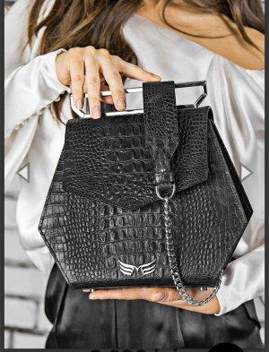 Luxuröse Croc Leder Tasche Maestoso