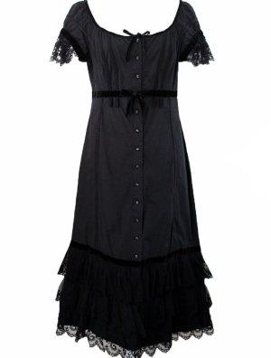 Philosophy Di Alberta Ferretti Cocktail Dress black cotton