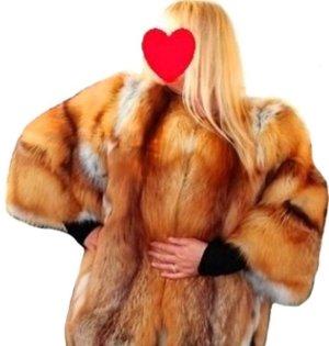 * Luxury Fuchs Jacke-Mantel * Gr. L -XL *  Neuwertig  *