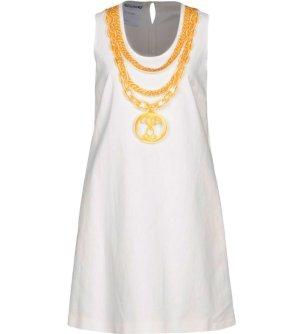 *  Luxury  MOSCHINO  COUTURE  Mini-Kleid  mit  Kettendruck  *  Gr. L  *  NEU  *