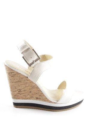 Luxury rebel High Heels weiß Casual-Look
