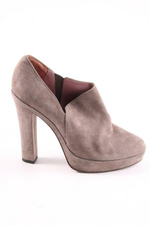Luxury rebel Hochfront-Pumps wollweiß Casual-Look