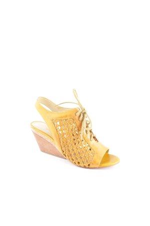 "Luxury rebel Wedges Sandaletten ""Catia"" hellbraun"