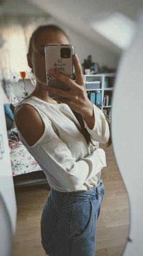 Luxury shirt aus Baumwolle/seide/cashmere von deluxe marke Majestic Paris