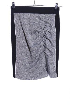 Stretch rok geruite print zakelijke stijl