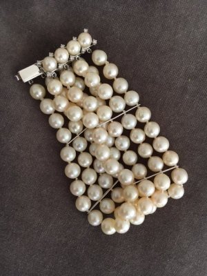 Juwelier Pearl Bracelet white-natural white mixture fibre