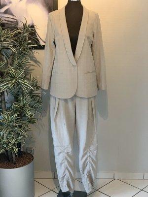 NÜ Denmark Trouser Suit grey brown-nude