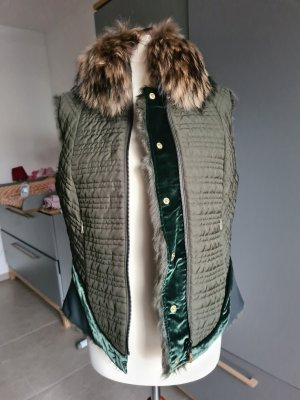 Bogner Bontgilet groen-khaki