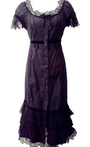 Alberta Ferretti Cocktail Dress black cotton