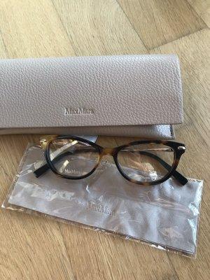 Luxus designer 190€ Max Mara Brille Glasses m Etui Tasche Clutch