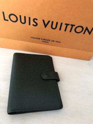 Luxus Designer Louis Vuitton Paris LV Taiga Agenda pm Planer Cardholder Booklet