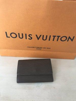 Louis Vuitton Key Chain black brown-dark brown