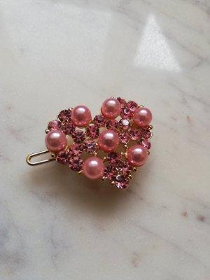 Molletta per capelli rosa pallido-rosa