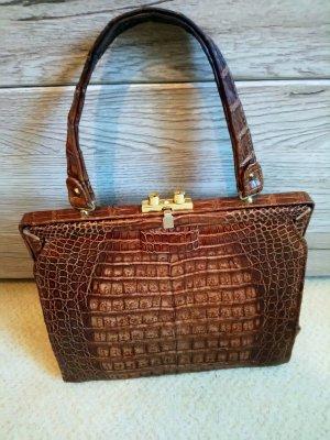 Luxus Handtasche aus Crocodile leder echt ! aus der 50