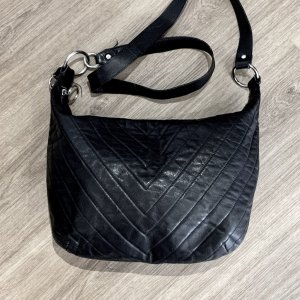 Furla Hobos black leather
