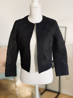 Gerard darel Bolero black-gold-colored cotton