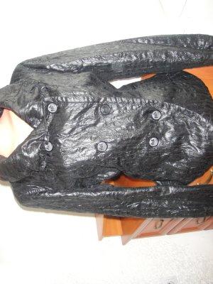 Apriori Krótki płaszcz czarny Poliester