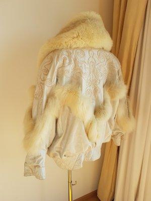 Luxus Leder - Pelz Jacke