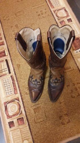 Tony Mora Botas estilo vaquero marrón-marrón oscuro