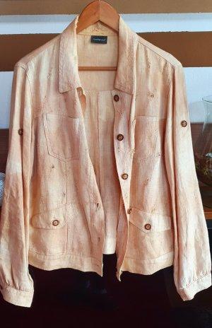 Rocco Barocco Between-Seasons Jacket pale yellow