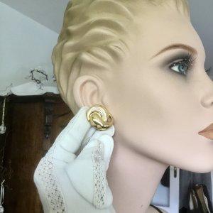 Christian Dior Clip d'oreille doré