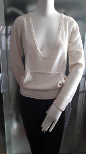 René Lezard Cashmere Jumper natural white cashmere