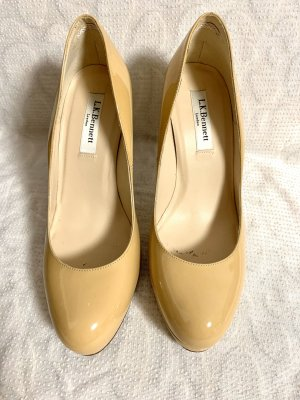 L.k. bennett Platform Pumps cream