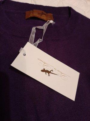 Dine 'n' Dance Cashmere Jumper dark violet cashmere