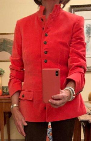 Luxus! Roter Designer Samtblazer von St. Emile Gr. 38 neu
