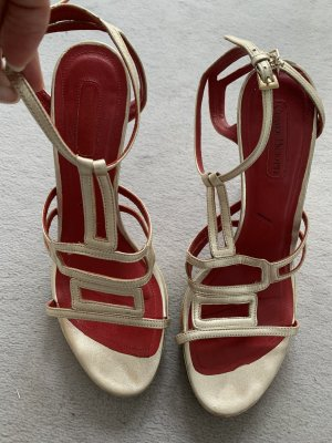 Cesare Paciotti Roman Sandals gold-colored