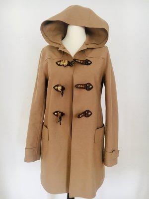 Luxus/ seltenes Stück: ✨Miu Miu ( Prada) Mantel, Dufflecoat, Jacke, Wollmantel, beige, DE 38,