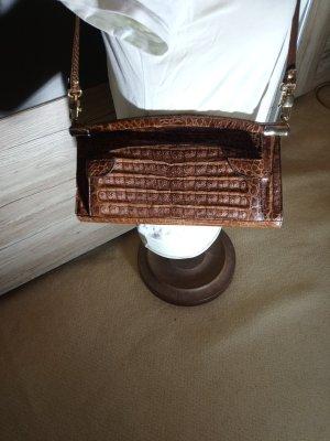 luxus Vintage echt croco leder tasche