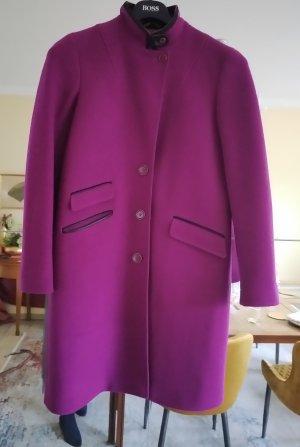 Etro Milano Frock Coat violet-black wool